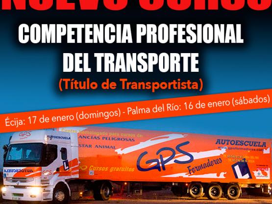 cursos competencia transporte