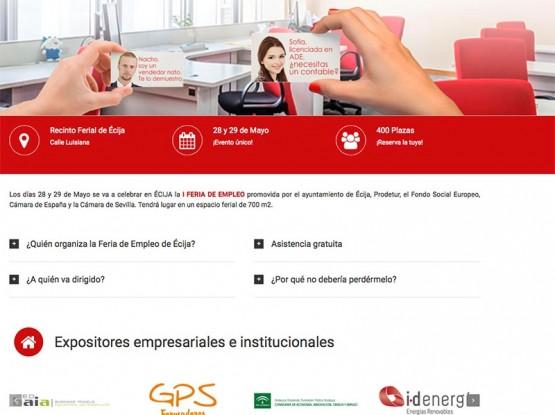 Feria del Empleo en Écija