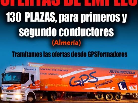 Empleo conductor camión
