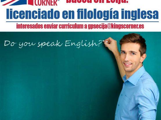 se busca profesor inglés en Écija
