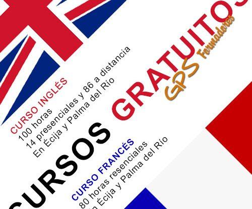 Cursos Francés e Inglés Gratuitos en Écija y Palma del Río